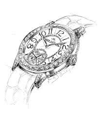 Image result for orthographic drawings of watches