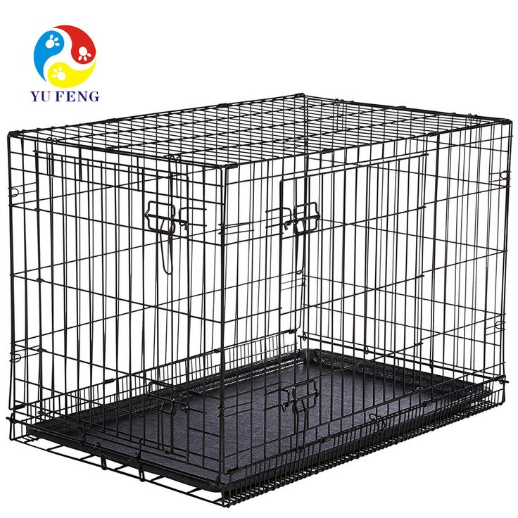 buy heavy duty metal wires extra large dog crate kennel huge pet cage giant breed at online store