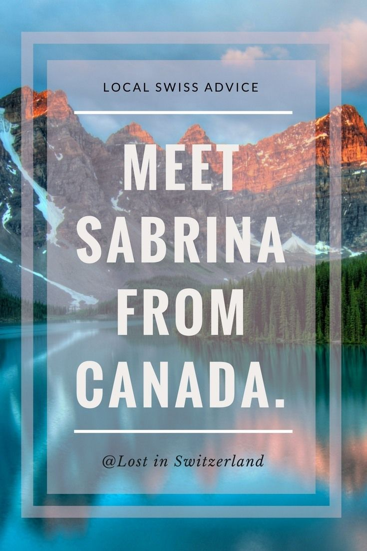 My Canadian friend Sabrina recently moved to Switzerland, her parent's home country. In this episode, I'm talking to her about her first couple of months in Switzerland, what she struggled with most and what advice she has for her fellow visitors.