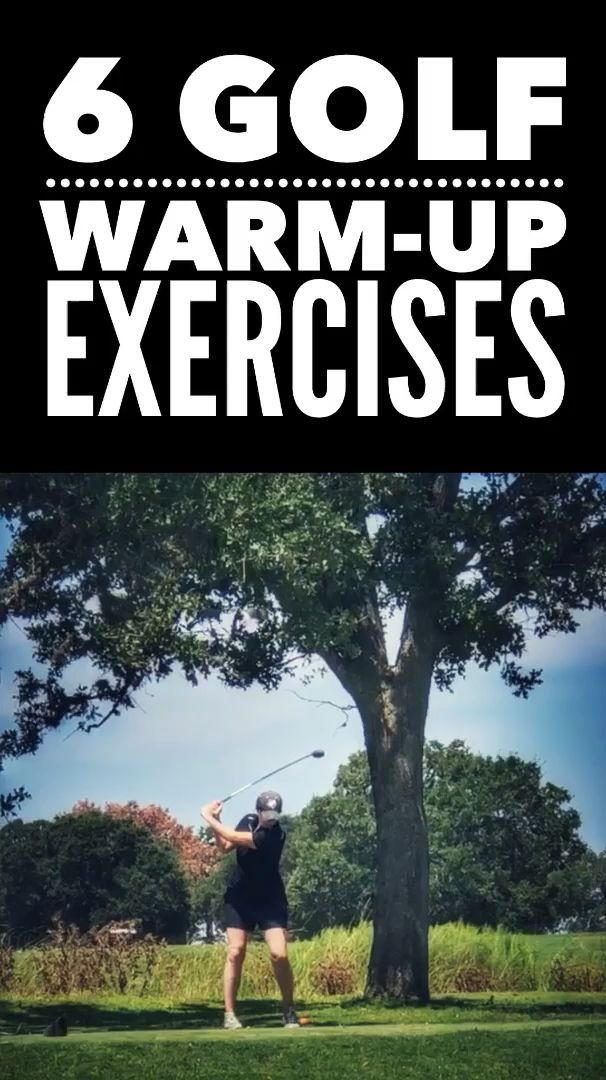 Golf Warmup Exercises Workout Warm Up Fitness Tips Warmup