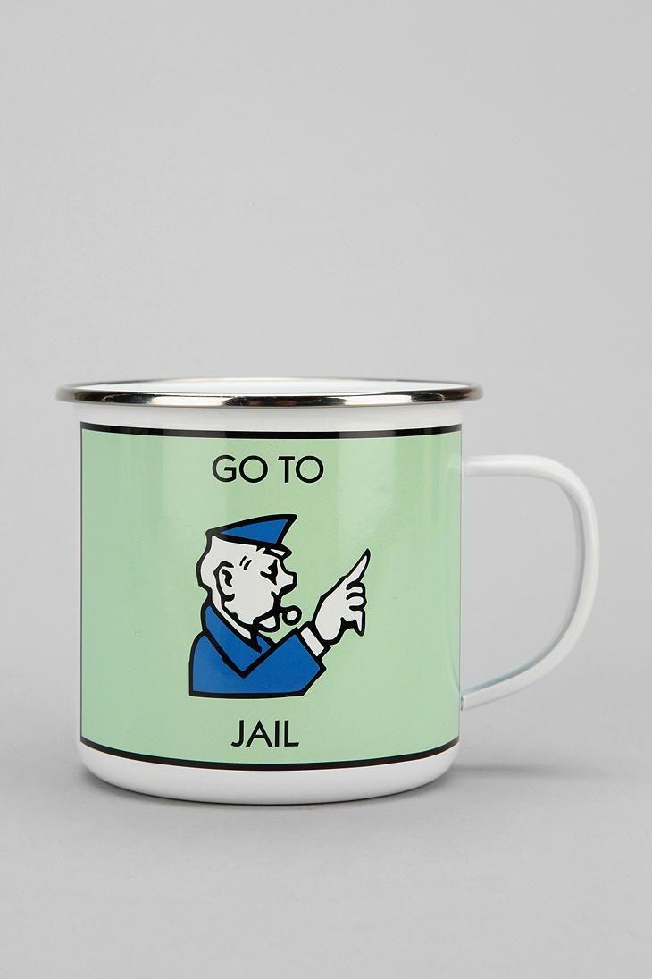 Monopoly Mug I Think Want To Start Collecting Weird Mugs