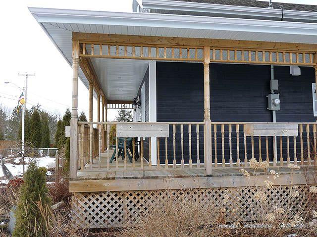 17 best images about build wrap around deck porch for Galerie exterieur maison