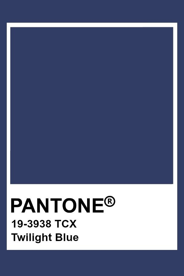 Pantone Twilight Blue Pantone Colour Palettes Pantone