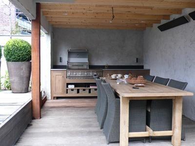Bekijk de foto van jazzballet met als titel prachtige buitenkeuken en veranda en andere inspirerende plaatjes op Welke.nl.