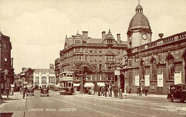 What I wish was still next to Leicester train station rather than a tower block :-\