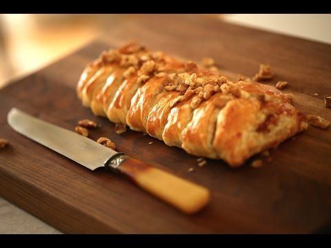 Puff Pastry dough , plus many ideas for different puff pastry shapes - YouTube