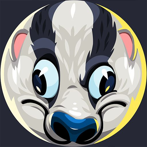 Custom Agar.io Skin Badger