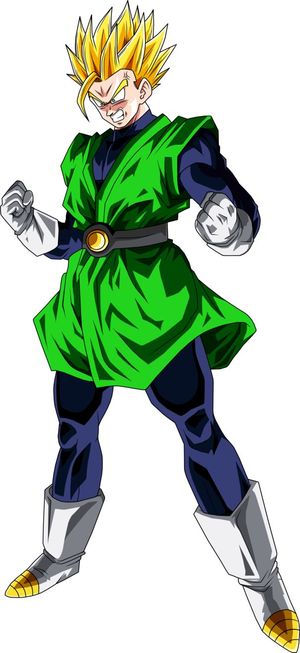 Super Saiyan 2 Great Saiyaman by BrusselTheSaiyan
