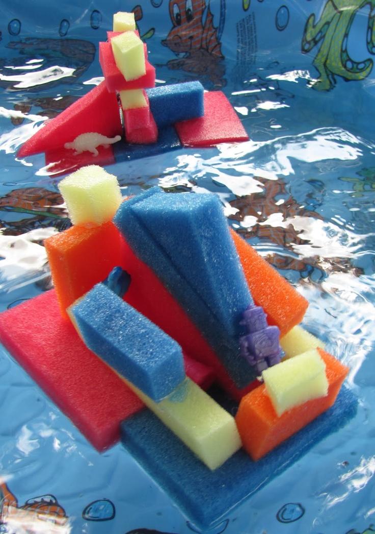 floating sponge sculpture too cool waterfun