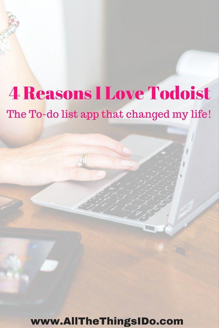 4 reasons i love todoist