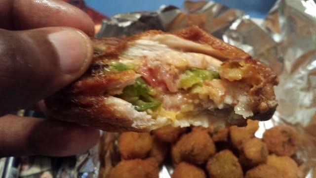 2Fat2Fly Bacon Jalapeno Stuffed Chicken Wings - food truck