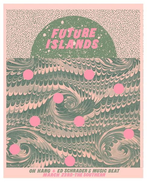 Future Islands   The Southern, Charlottesville VA 2014   Designer: Thomas Dean