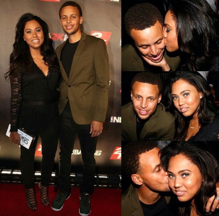 Like what you see⁉ Follow me on Pinterest ✨: @joyceejoseph ~ Ayesha and Stephen Curry