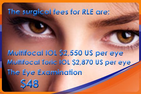 Refractive Lens Exchange (RLE) is an advanced and painless method of natural lens removal. During RLE surgery, a tiny ultrasonic probe breaks up the natural lens and draws it away. #Ophthalmology_in_Thailand