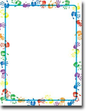 Masterpiece Studios Baby Handprints Letterhead #backtoschool
