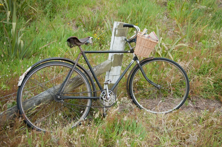 One of our vintage bicycles.
