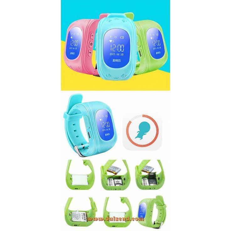 Gps horloge voor kinderen en volwassenen gebruikt de setracker app