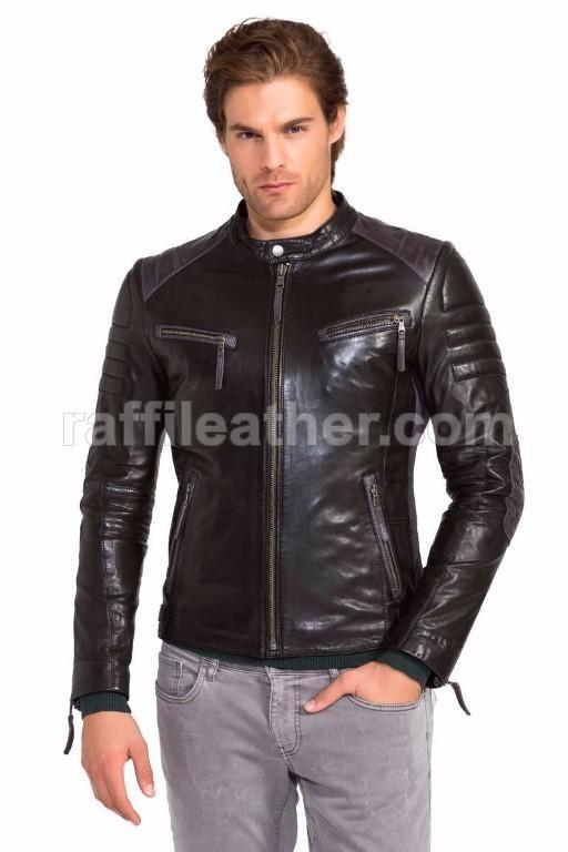 Jaket Kulit Bikers/Motor » jaket Kulit Bikers 030 • www.raffileather.com Jual Jaket Kulit Asli Garut Murah & Berkualitas #jaketkulit