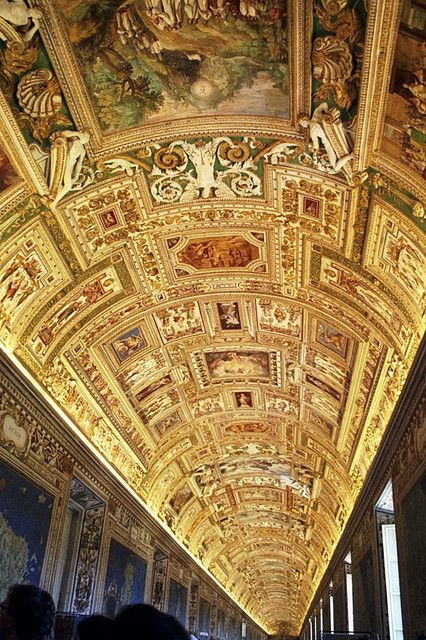 Sistine Chapel - Top Places to Visit in Italy-- This was an awesome part of going through the Vatican museum. It seriously (luckily not literally) blew my mind.
