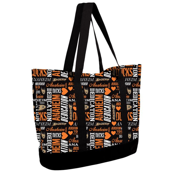 Anaheim Ducks Women's Collage Tote Bag