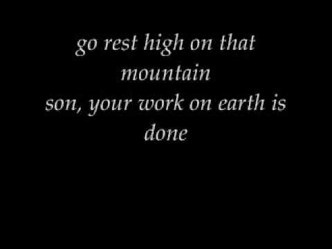 Go Rest High on That Mountain (lyrics) Vince Gill Inspiration Songs, Awesome Quotes, Inspiration Music, Funeral Plans, F...