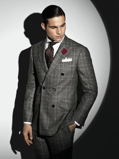 32 best Double Breasted Suits images on Pinterest | Menswear ...