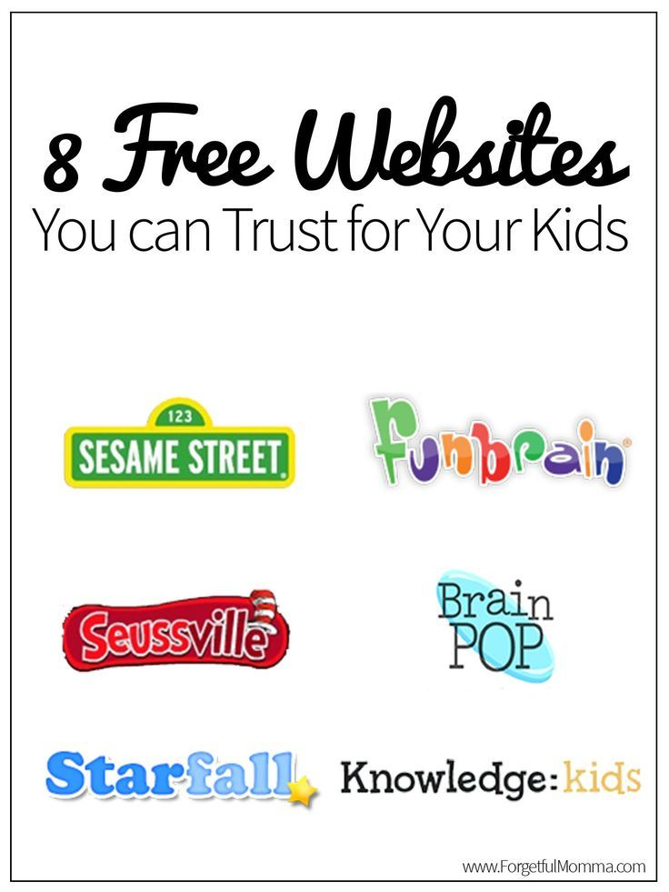 Letting your kids be online can be a scary thing, I have found 8 free websites you can trust for your kids being on, they'll have fun and learn too.