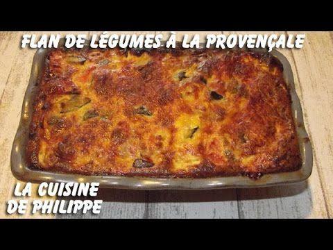 (261) Flan de légumes à la Provençale - YouTube