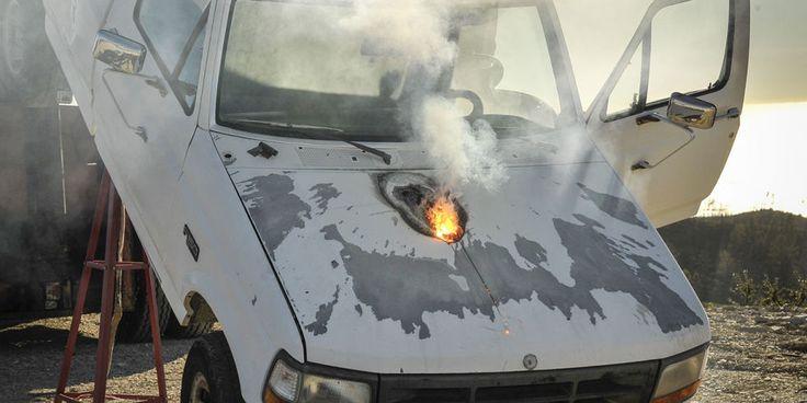 Lockheed has a laser gun, truck-engine melting ensues +http://brml.co/1wePgBd