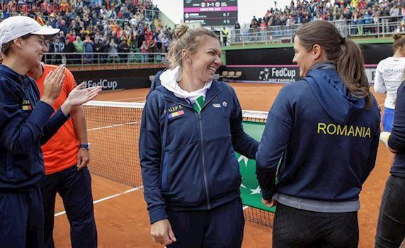 Romania beat Britain in Fed Cup as Johanna Konta and Heather Watson lose