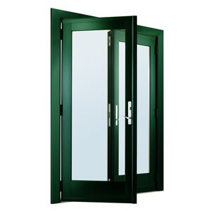 Andersen 400 Series Frenchwood Hinged Patio Doors Can Swing In Or Out, And  Can Be Combined With Stationary Windows Above Or Below.