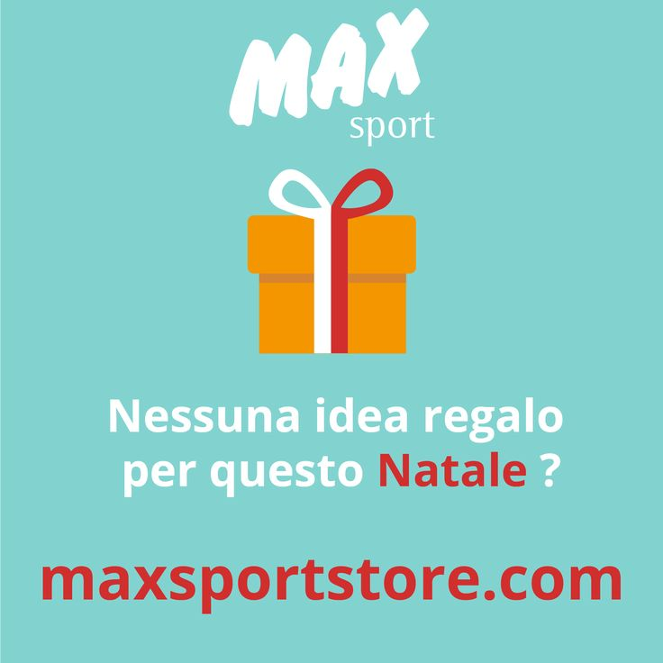 Tantissime idee regalo http://maxsportstore.com/regali-di-natale.html