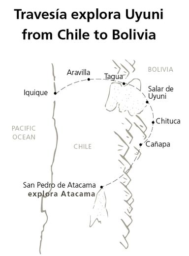 Travessia explora Uyuni from Chile to Bolivia