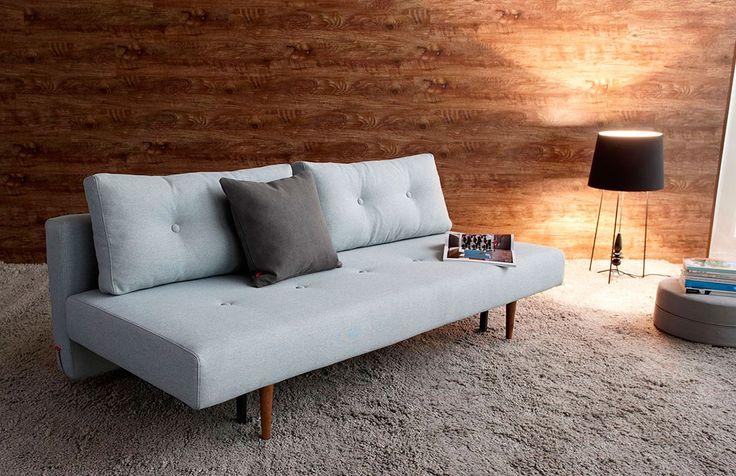 Recast bäddsoffa, framtidens bäddsoffor är här! En modern och smart soffa för den stilmedvetna. Dansk design av Per Weiss.