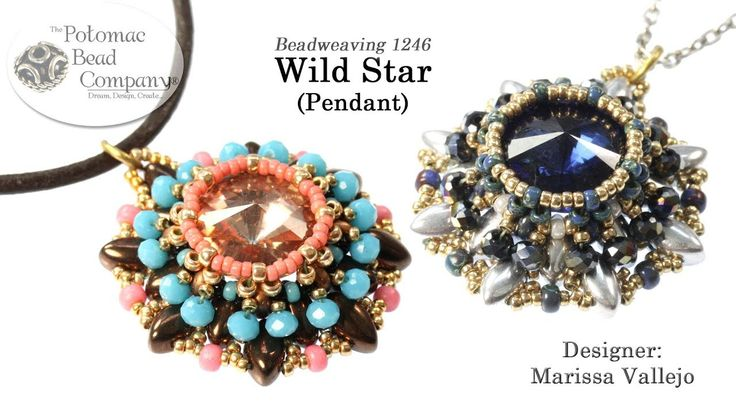 Wild Star Pendant (Jewelry-Making Tutorial)