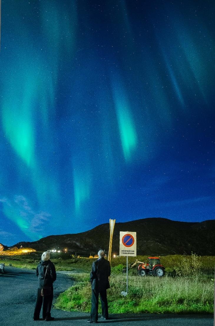 Auroras - Taken by Anne Birgitte Fyhn on September 27, 2012 @ Sommarøya, Tromsø, Norway