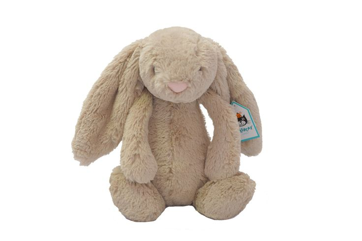 Our Jellycat Bunny in Beige makes a cute alternative gift for Easter this year! R390.00 Available in Cream, Beige and Silver. https://www.oheka.co.za/collections/easter/products/bashful-bunny-beige