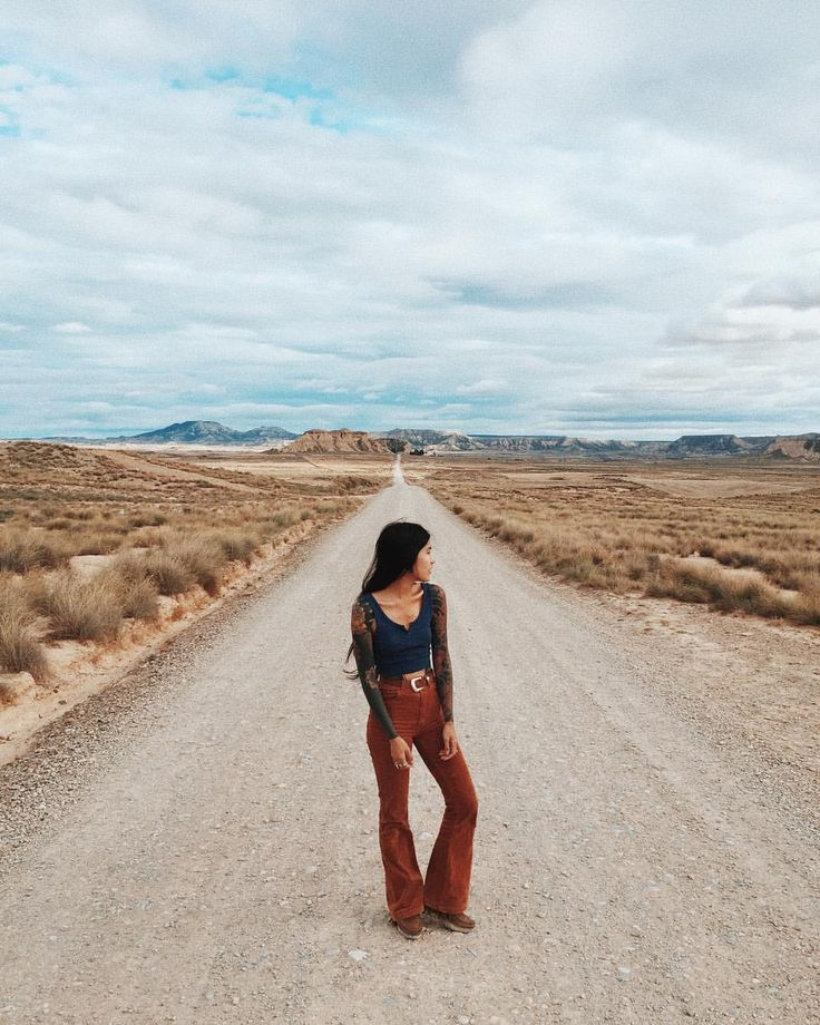"""8,174 Likes, 42 Comments - ❁ A N H  ❁ (@anhwisle) on Instagram: """" #bardenasreales #bardenas #Navarre#Spain#ootd #travel"""""""