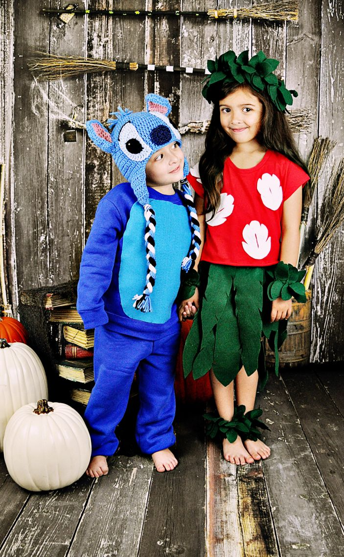 LILO and stitch brother sister costumes