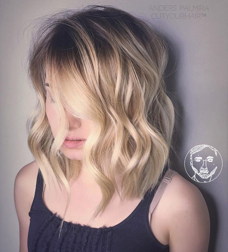 4 Blonde Blond Straight Hair Sweep Blonde Balayage: 17 Best Ideas About Brunette Haircut On Pinterest