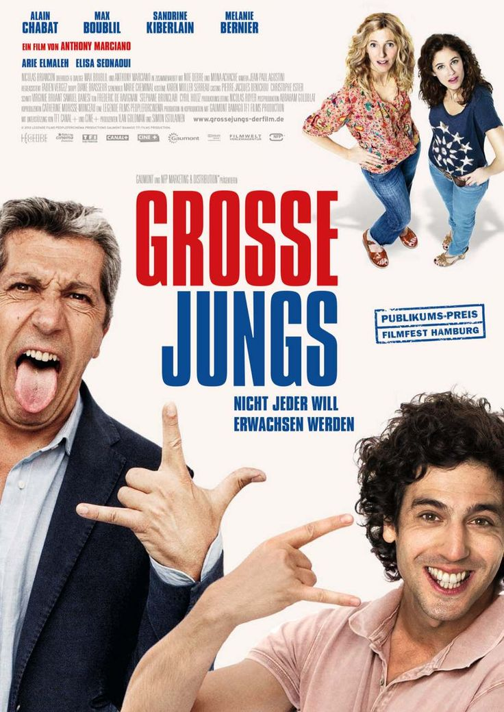 french comedy about life - France 2013 - regie Anthony Marciano with Alain Chabat, Max Boublil.