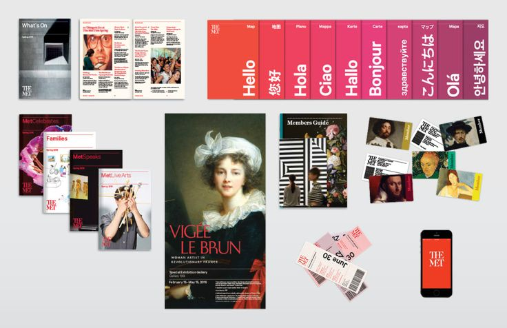 The Met Explains Its Controversial New Logo | As is so often the case with a new logo, The Met's brings with it an overhauling of the museum's graphic identity. It includes a broader set of visuals that will appear on the museum's campuses and digital platforms. | Credit: The Met | From Wired.com