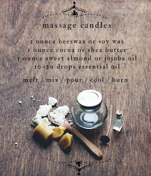 How To Make Massage Candles | Free People Blog #freepeople