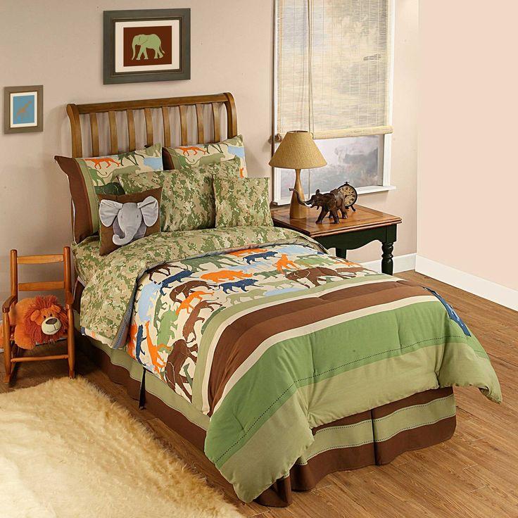 Safari Bedroom: 27 Best Caden & Greyson's Bedroom Images On Pinterest