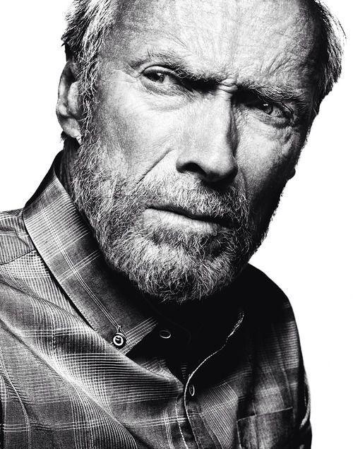 "beardbrand: ""Clint Eastwood by Platon ""what a legend!!"
