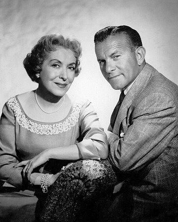 George Burns and Gracie Allen. c. 1952/CBS
