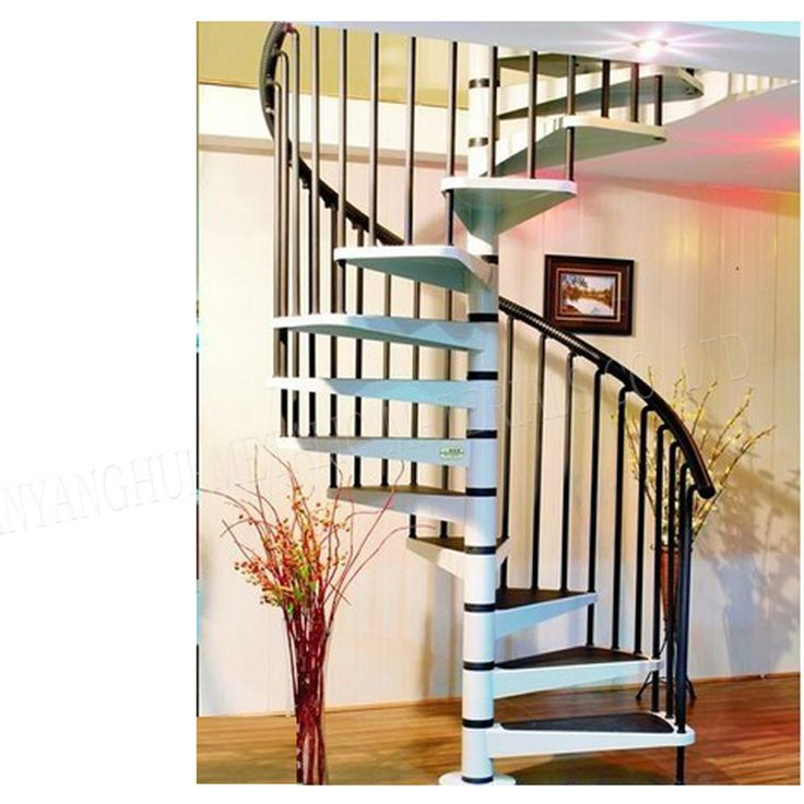 Best Luxurious Wood And Iron Stairs Railing Loft Iron Spiral 400 x 300