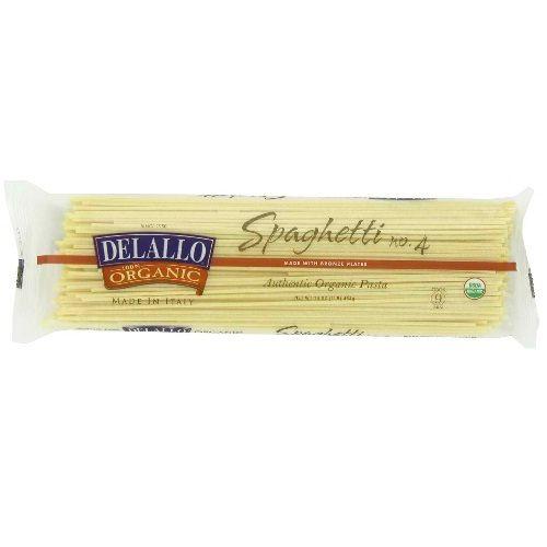 De Lallo Spaghetti Whole Wheat Pasta #4 (8x1 Lb)