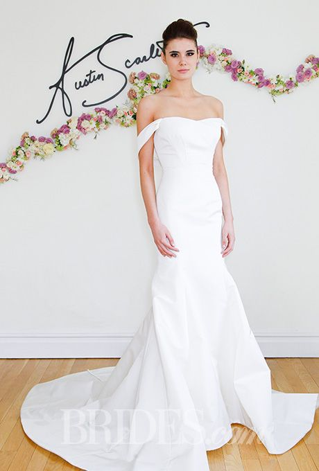 Brides: Austin Scarlett Wedding Dresses   Spring 2016   Bridal Runway Shows   Brides.com | Wedding Dresses Style