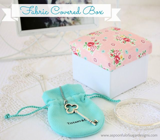 #Tecnica #Folrar #Tela #Tapa #Caixa | Fabric covered box